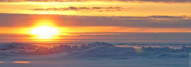 Eisstation auf 89°Nord 55°Ost