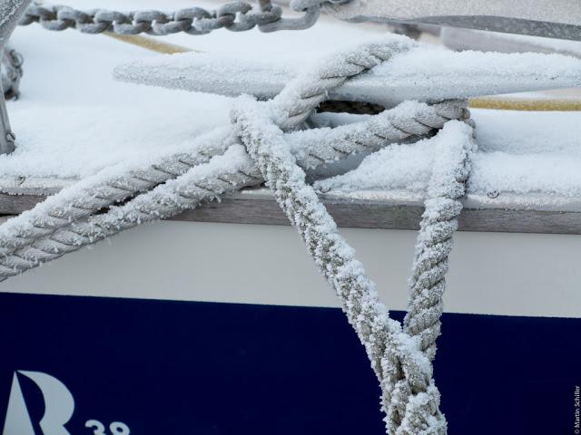 Winter im Hafen