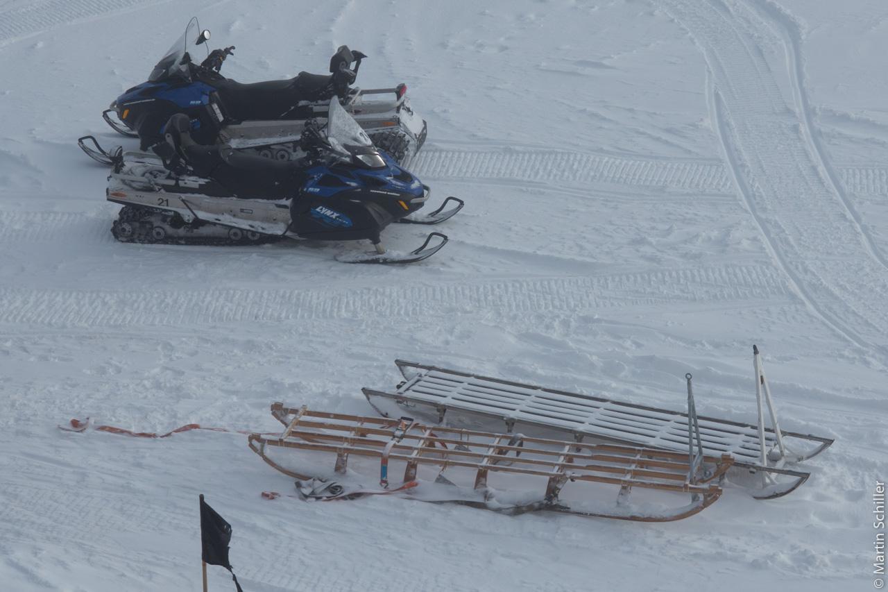 Spitzbergen im Winter