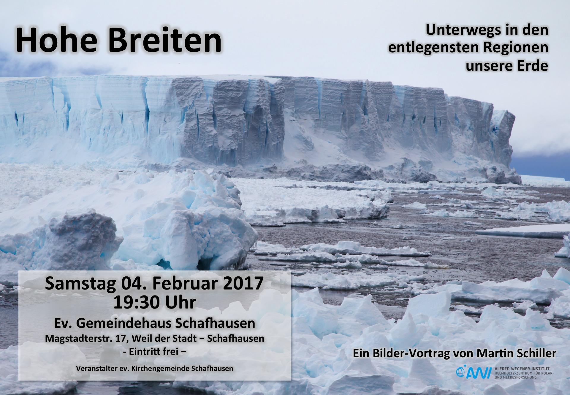 Vortrag in Weil der Stadt – Schafhausen