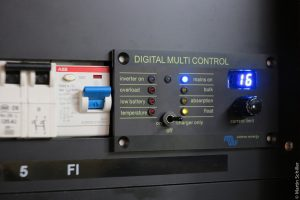 Victron Digital Multicontrol Panel