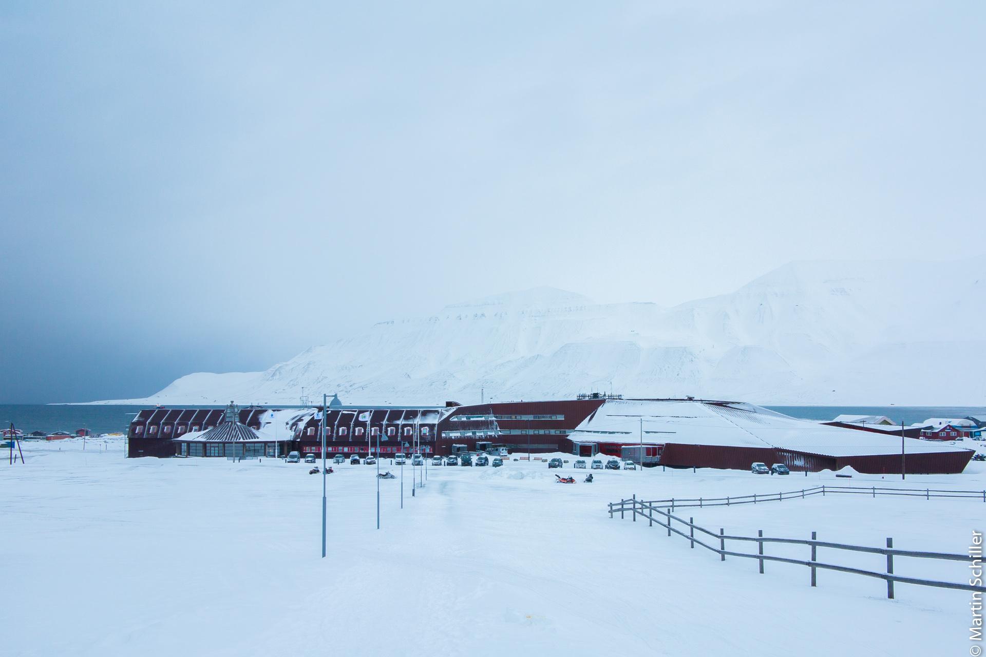Messgeräte auf Spitzbergen