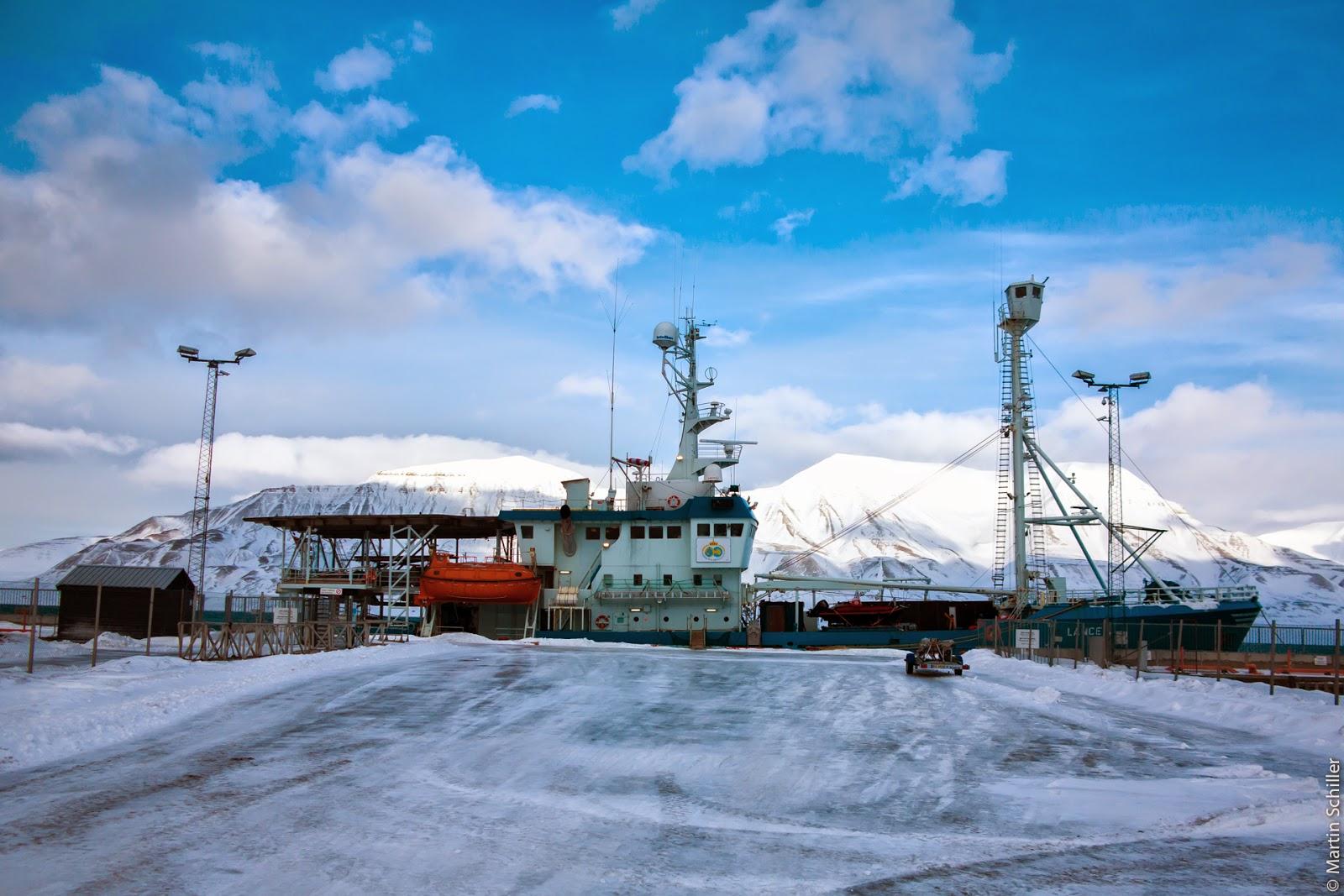 Eis-Routen-Optimierung in der Arktis