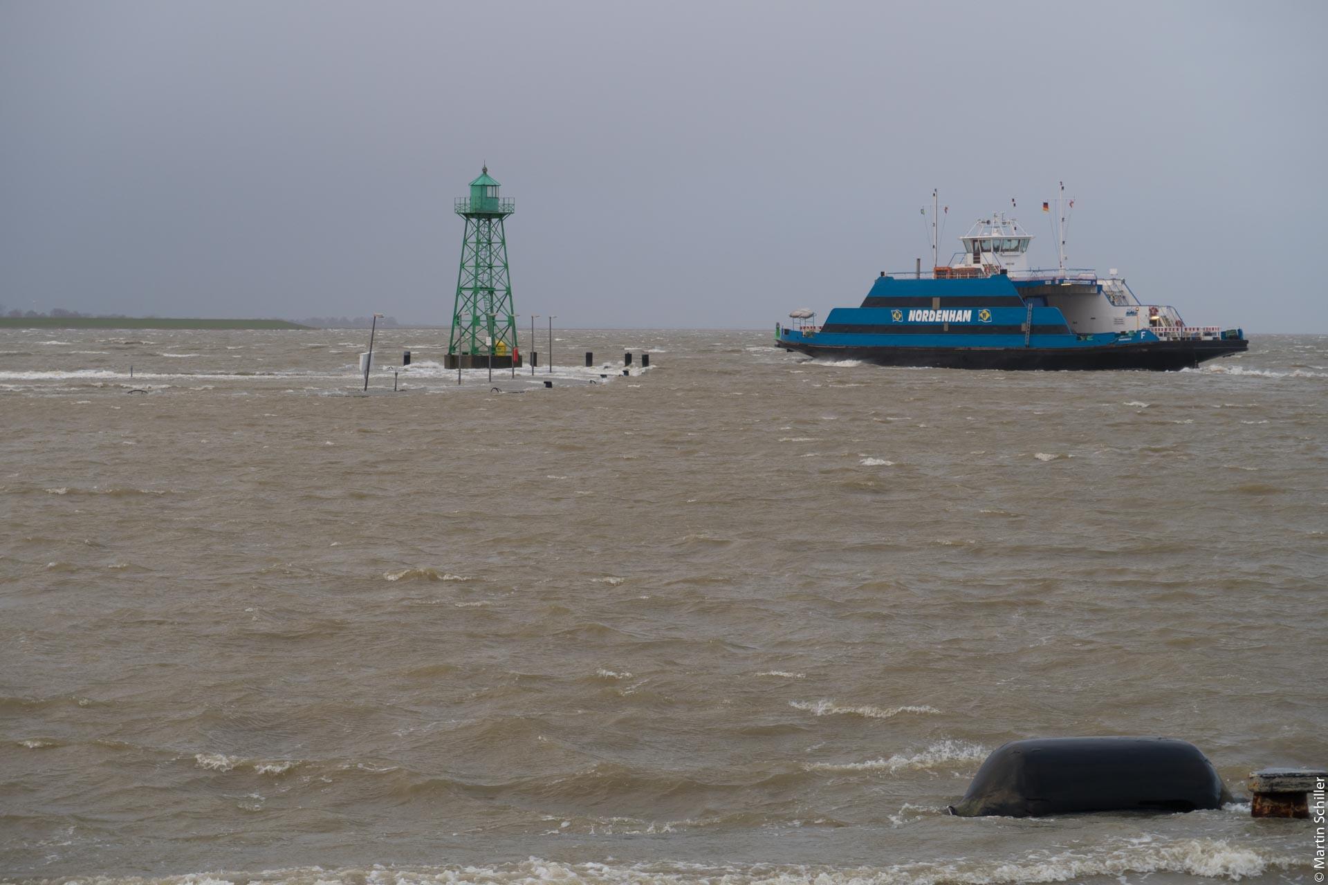 Sturmflut an der Nordsee