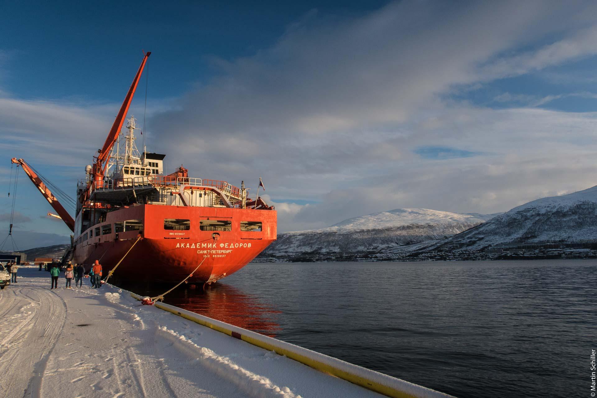 In Tromsø eingelaufen