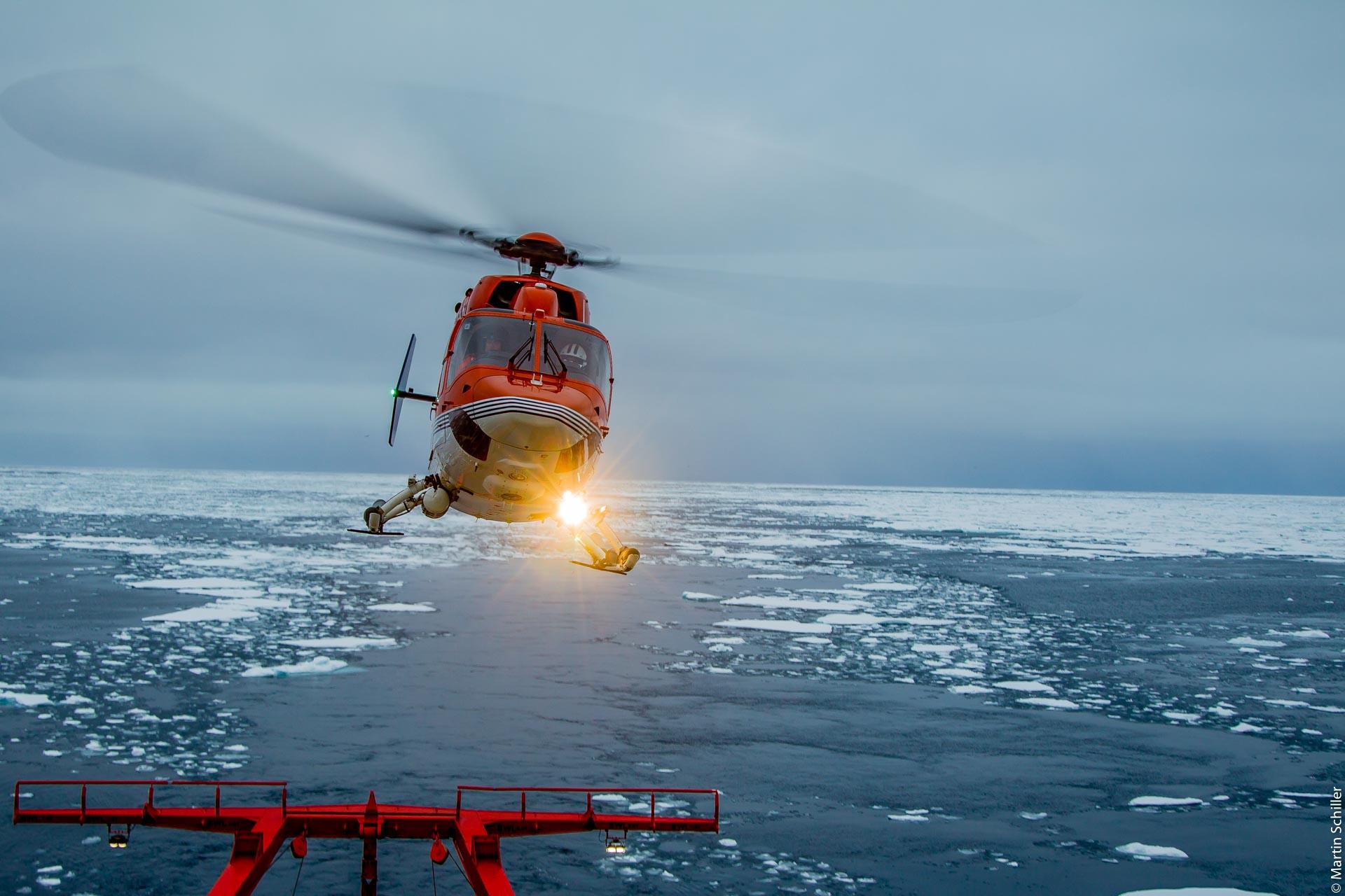 Polarstern im Arktischen Ozean