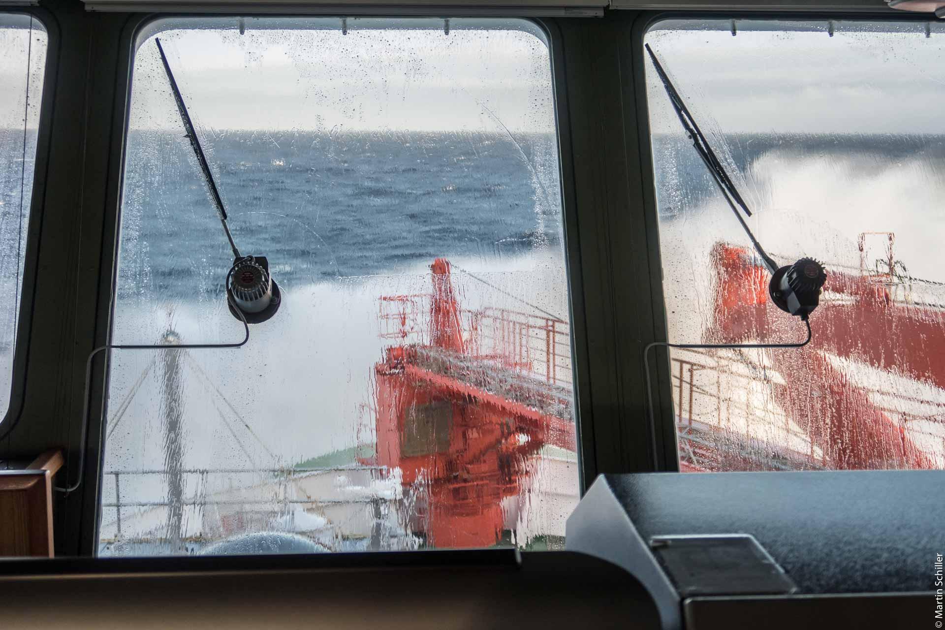 7 Beaufort in der Barentssee