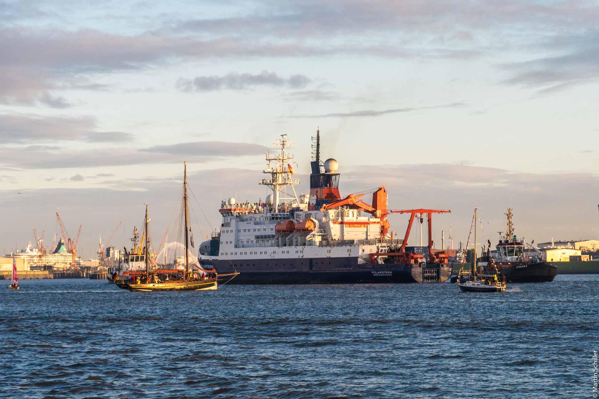 Polarstern ist zurück in Bremerhaven