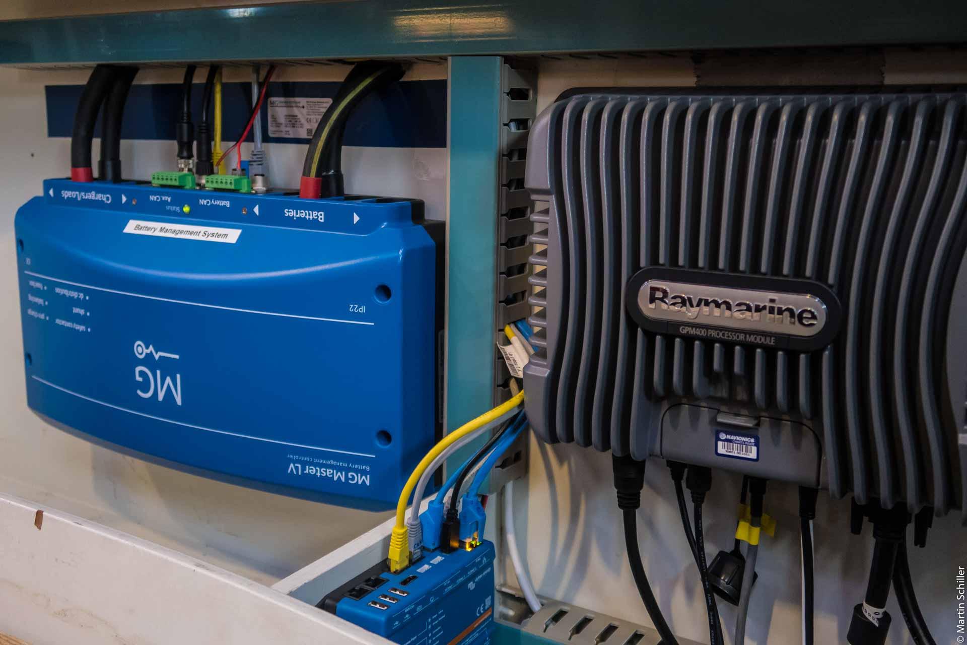 Lithium Batterien für die Segelyacht INFINITY (Teil 2)
